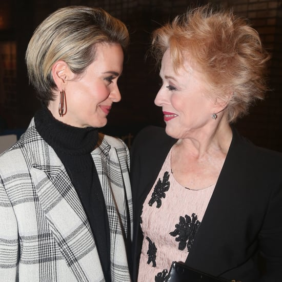 Sarah Paulson and Holland Taylor in NYC October 2016