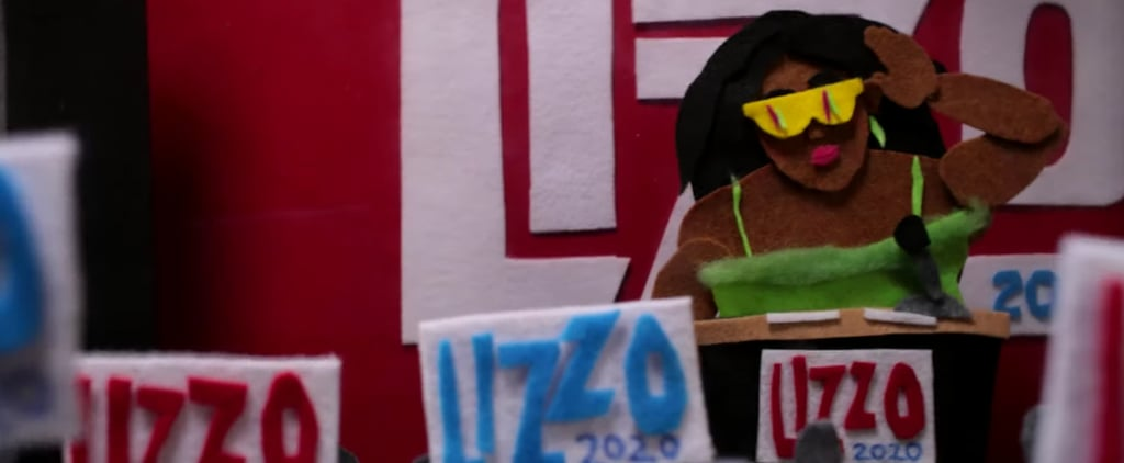 "Lizzo Runs For President in New ""Truth Hurts"" Lyric Video"