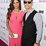 Matthew McConaughey and Camila Alves walked the pink carpet in LA.