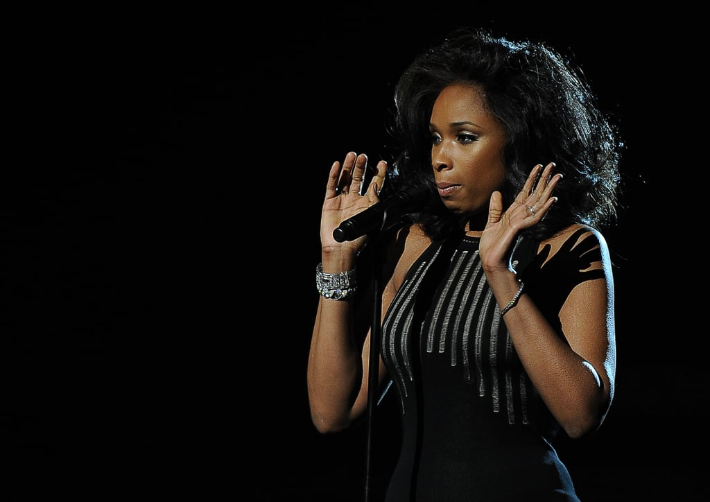 Jennifer Hudson Delivers Emotional Whitney Houston Tribute at the Grammys