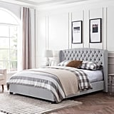 Christopher Knight Home Virago Contemporary Upholstered Platform Bed
