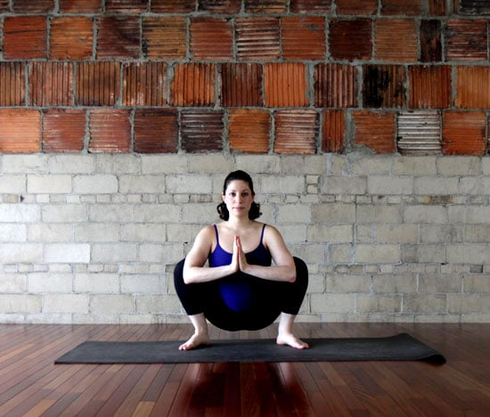 Wide Squat Hip And Back Yoga Stretches For Pregnancy