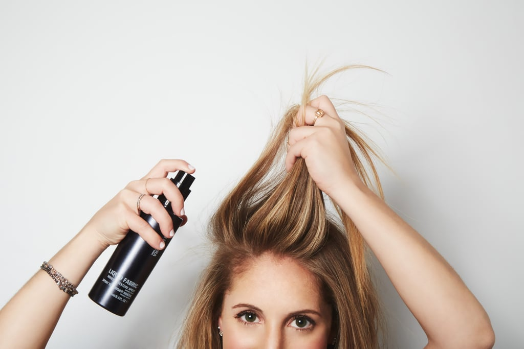 """Using Dry Shampoo to """"Clean"""" Your Hair"""