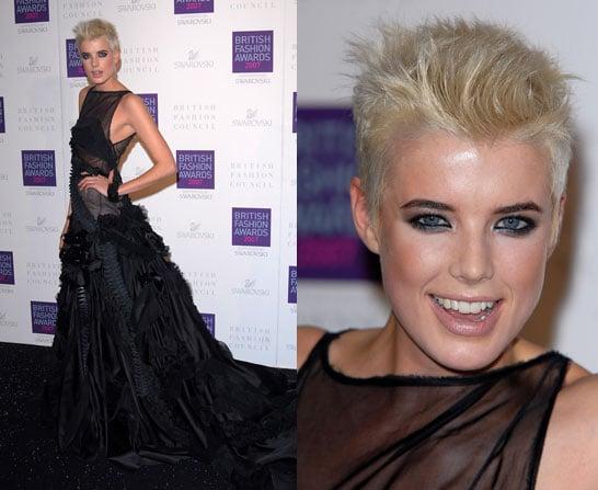 2007 British Style Awards: Agyness Deyn