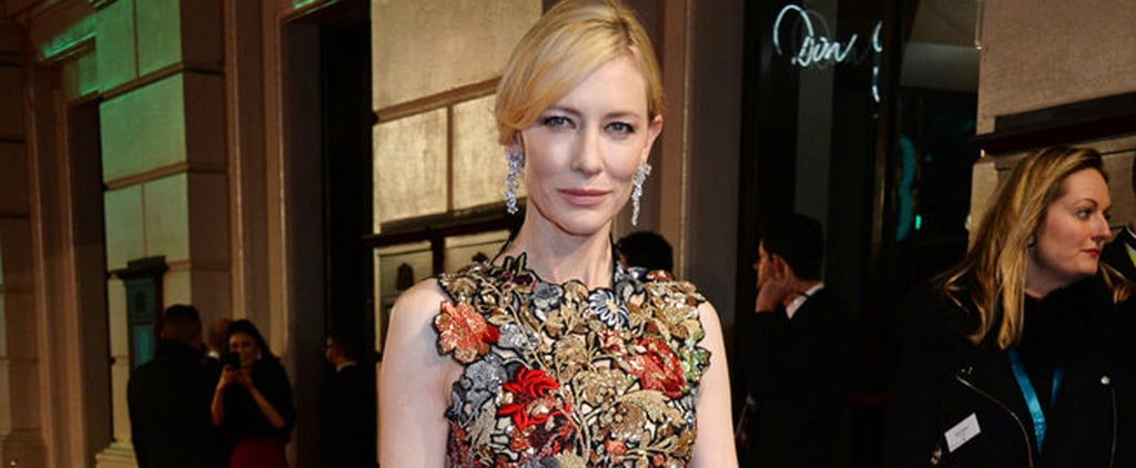 Cate Blanchett Is a Red Carpet Dream in McQueen at the BAFTA Awards