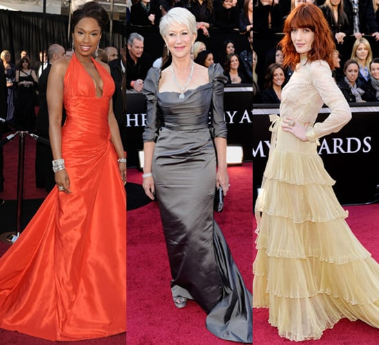 Floor Sweeping Gowns on the Red Carpet at the 2011 Oscars