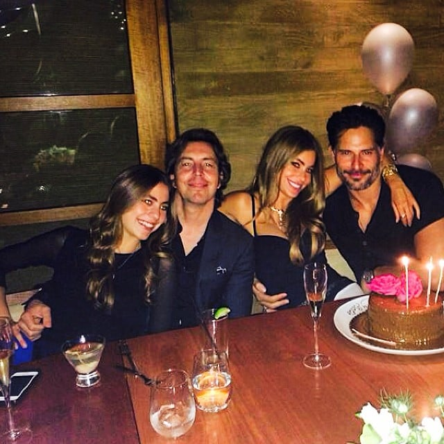 Joe Manganiello Cozies Up to Sofia Vergara at Her Birthday Celebration