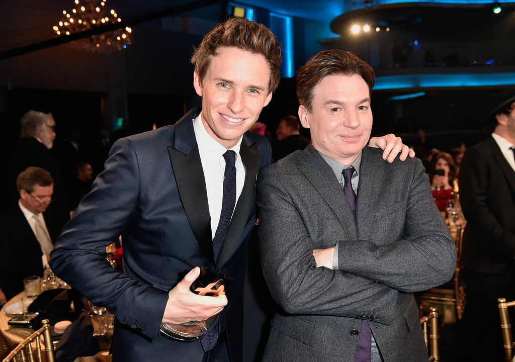 Eddie Redmayne and Mike Myers