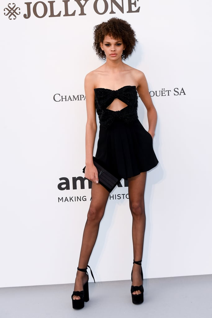 Hiandra Martinez at the amfAR Cannes Gala