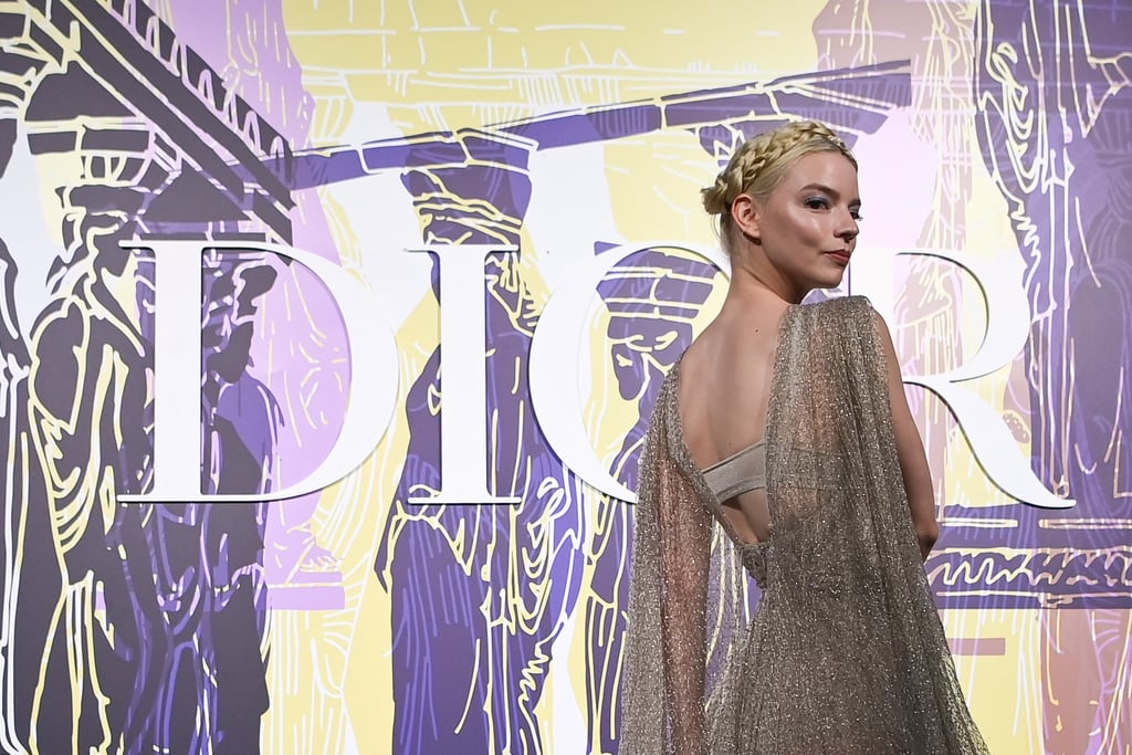 Anya Taylor-Joy Stuns in Dior Gown at the Dior Cruise Show