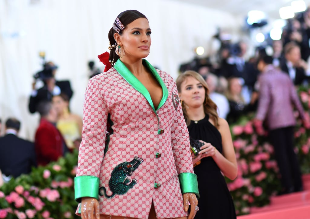 Ashley Graham Wore Crystal-Encrusted Stockings as Pants to the Met Gala, and We.