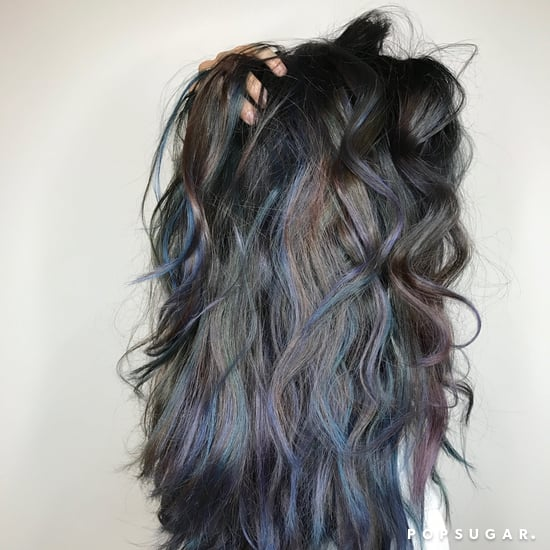 Oceanic Brunette Hair Color Trend