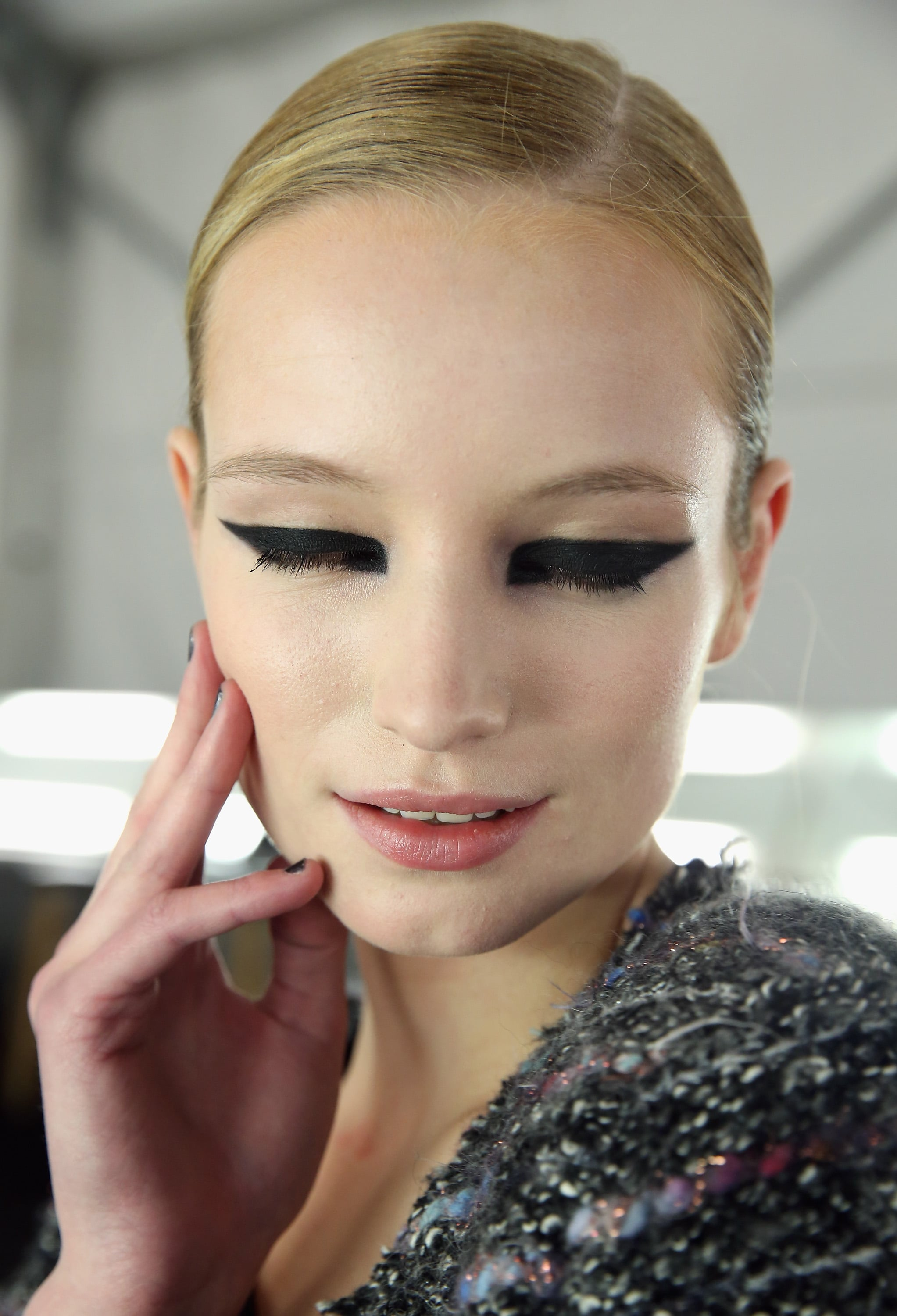 """""""The Detail Is A Strong, Graphic Eyeliner That's Quite"""