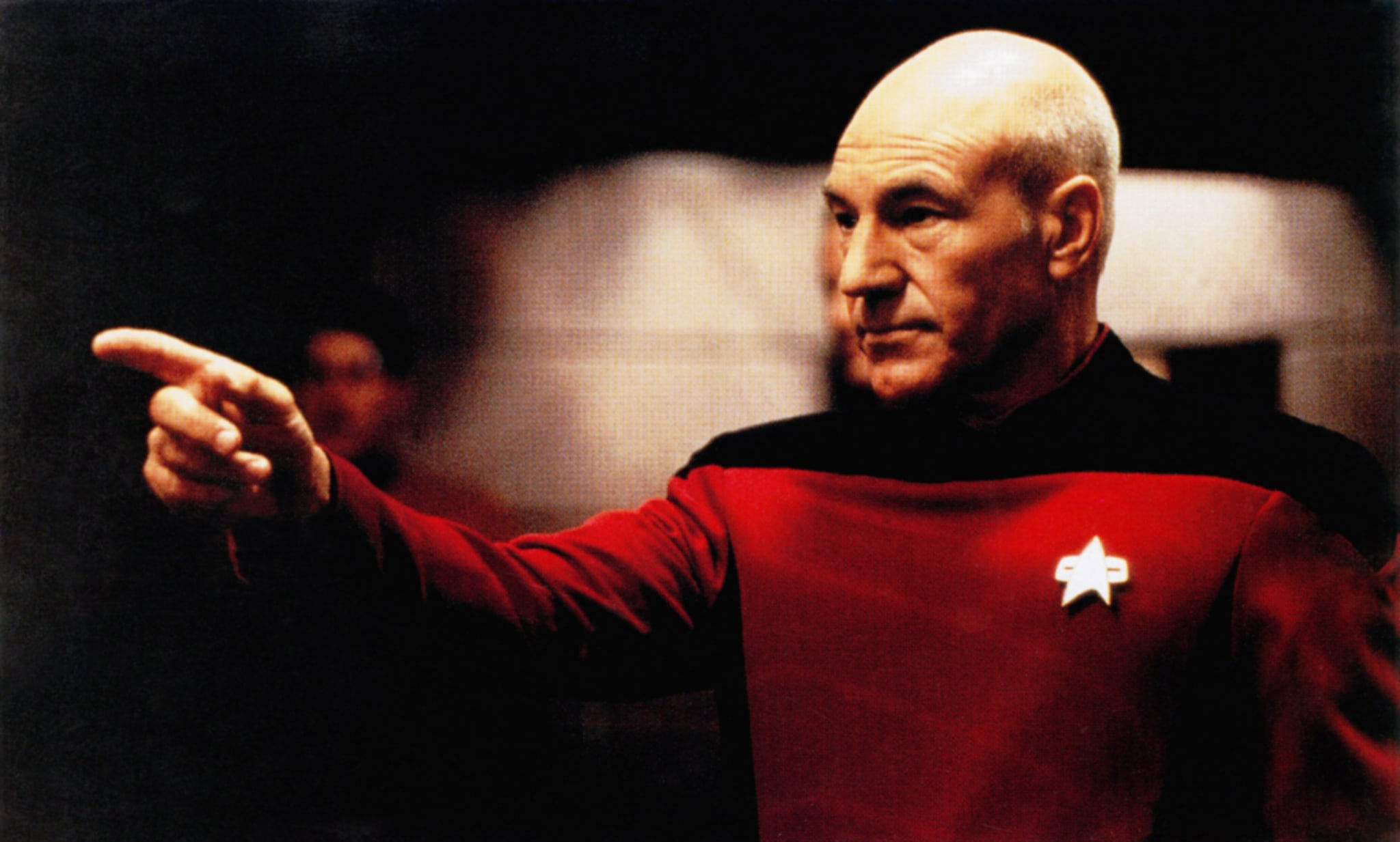 STAR TREK: GENERATIONS, Patrick Stewart, 1994, Paramount/courtesy Everett Collection