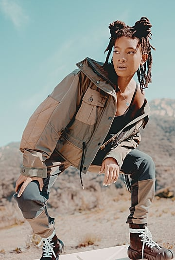See Willow Smith's Onitsuka Tiger Campaign Fall 2020