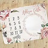 Floral Milestone Blanket