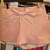 These striped shorts are so cute. I fell for the bow detailing.
