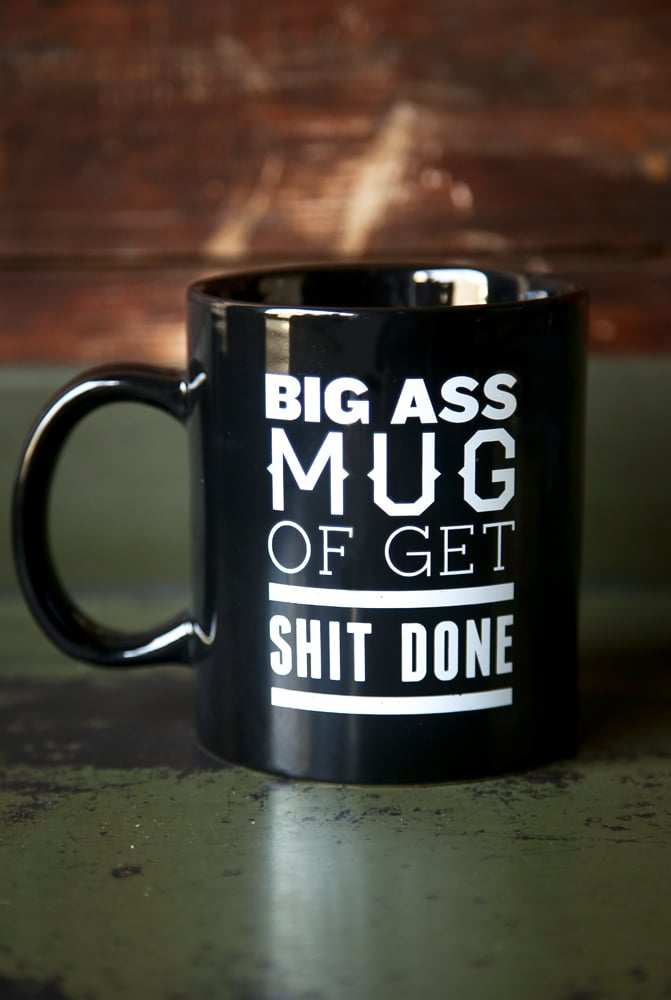 Thug Kitchen's Big Ass Mug