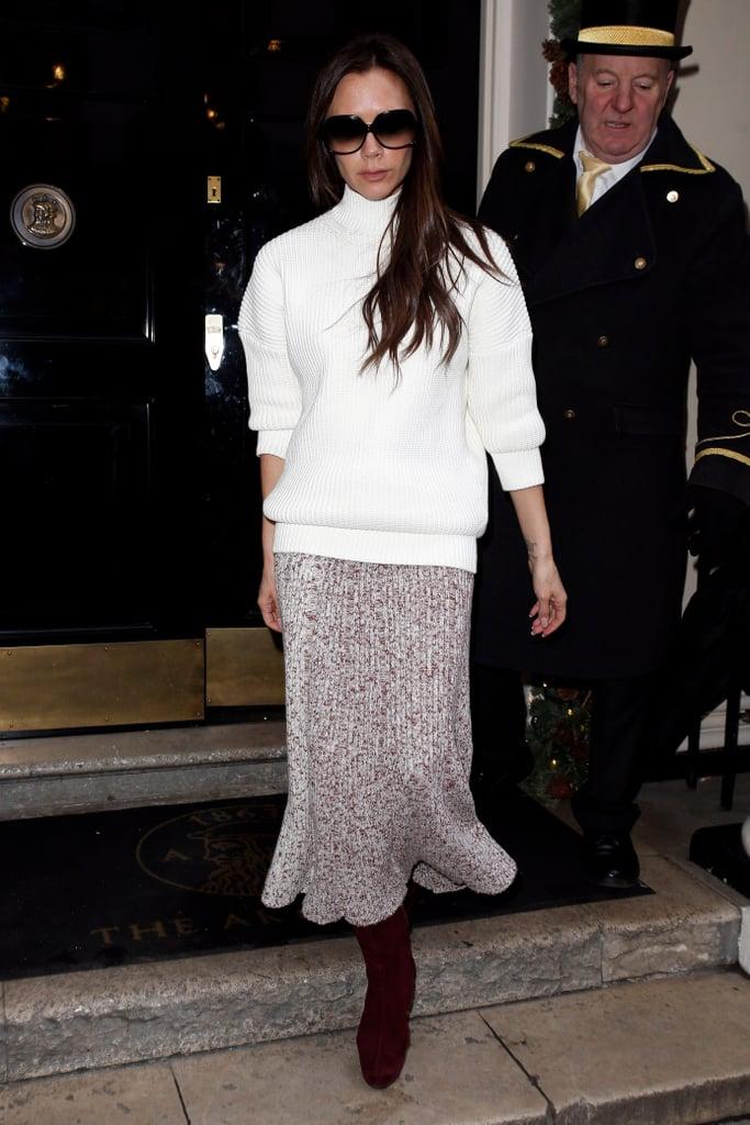 Victoria Beckham Fall Outfits