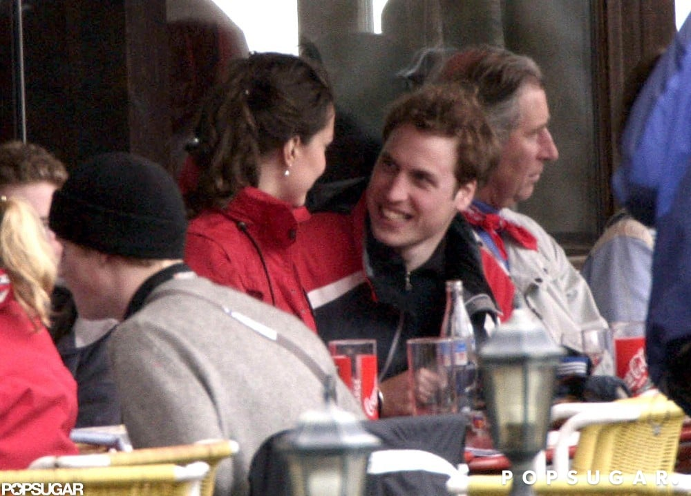Kate accompanied William and his family on a March 2005 ski trip back to Klosters ahead of Prince Charles's wedding to Camilla Parker Bowles.