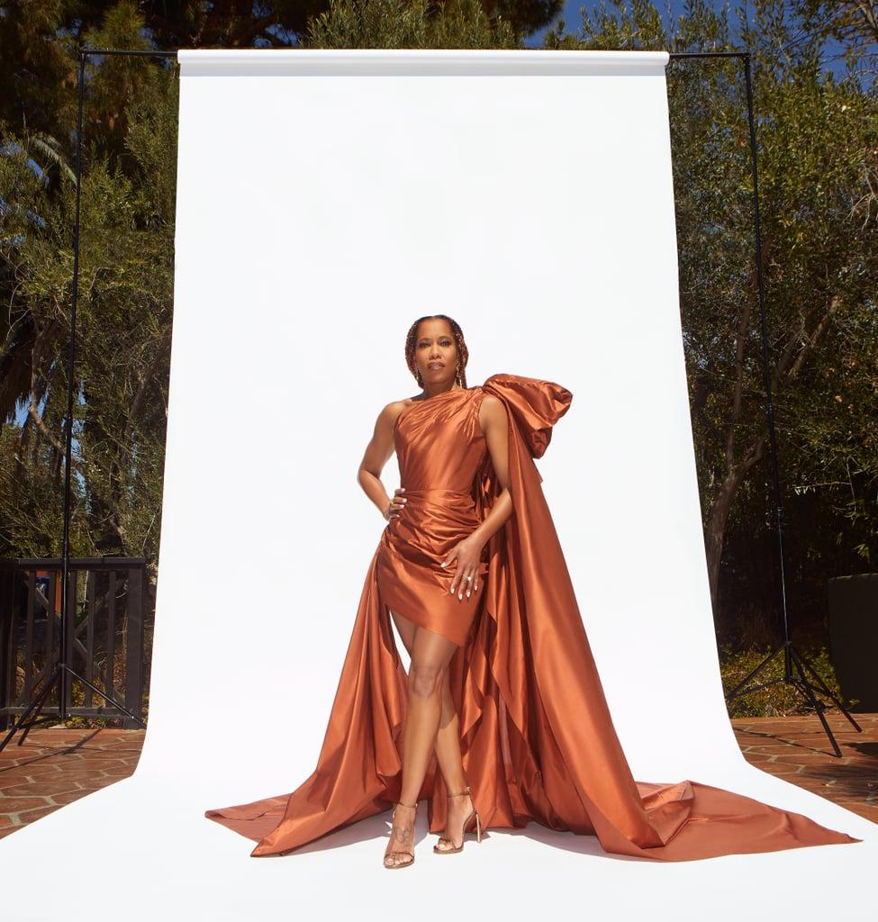 Regina King's Oscar de la Renta Dress at NAACP Image Awards