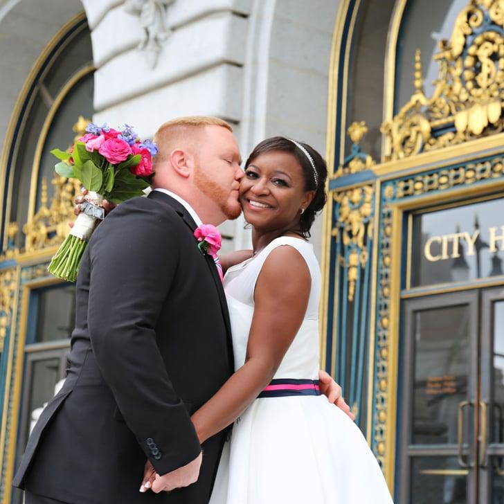 city hall wedding popsugar love sex