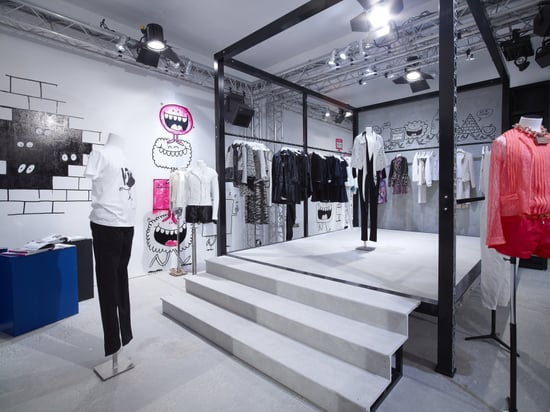Chanel and Colette Collaborate On Pop Up Store, Rue St Honore Paris