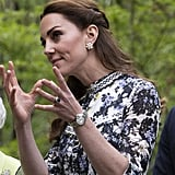 Kate Middleton's Braided Half-Up Hairstyle, 2019