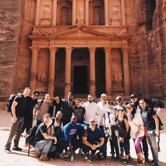 Cast of Aladdin Filming in Jordan