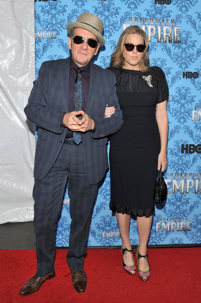 Elvis Costello and Diana Krall stepped out for the premiere party in NYC.