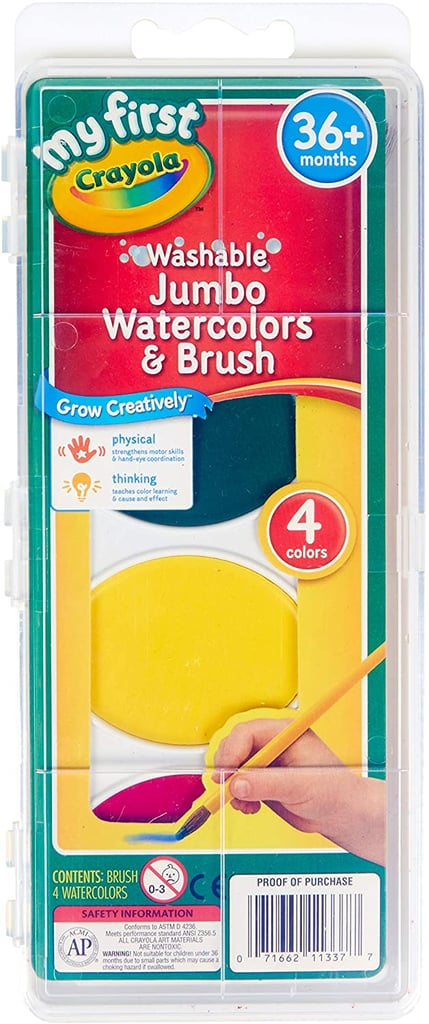 Crayola My First Washable Watercolors & Brush