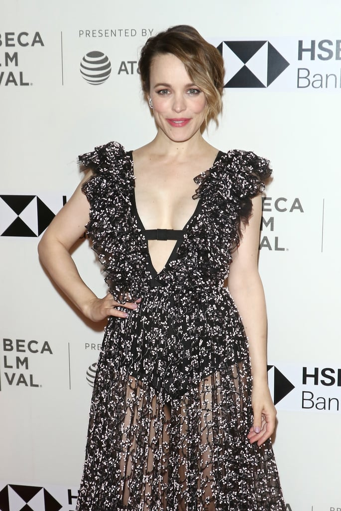 Rachel McAdams's First Red Carpet After Giving Birth 2018