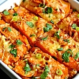 Mexican Sweet Potato Gratin
