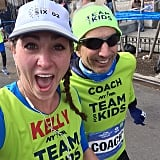 """This man makes people marathoners. Love Team For Kids."""