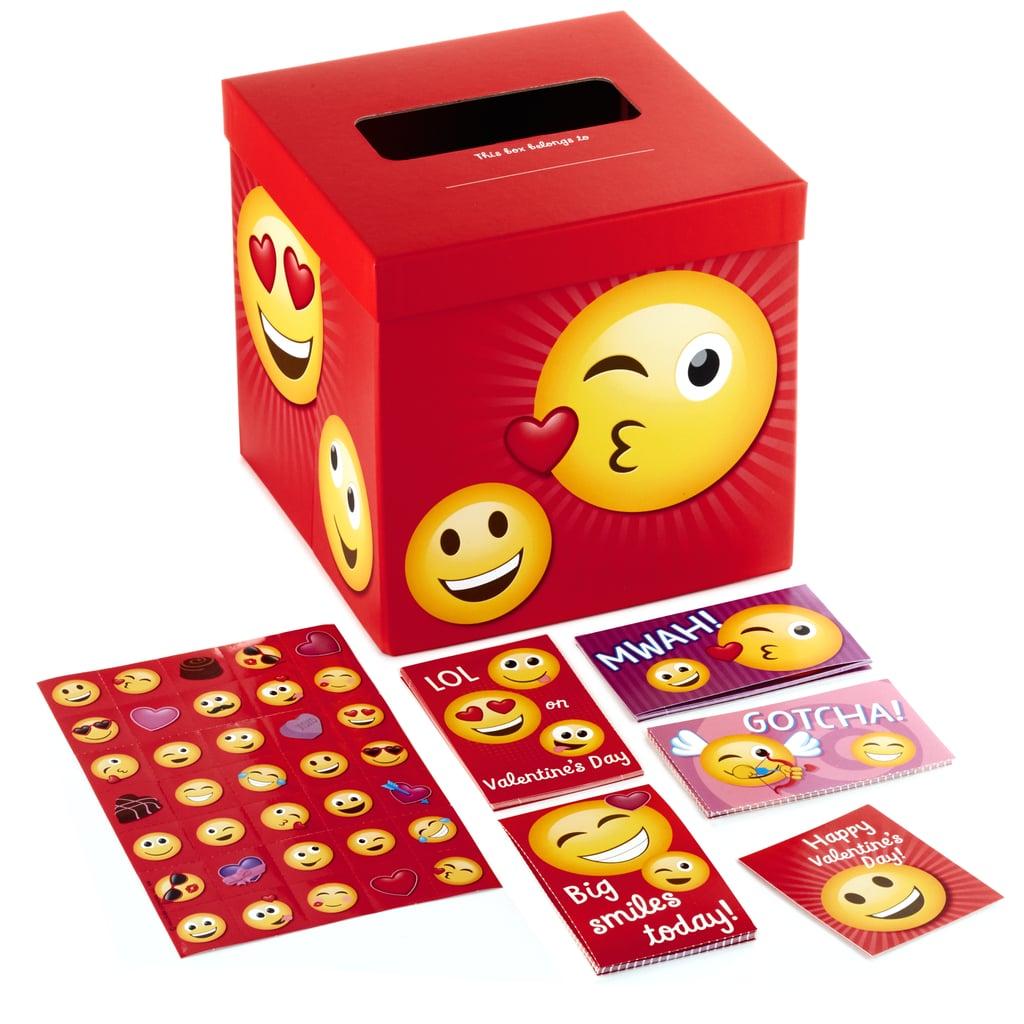 Emoticon Valentine Cards and Mailbox