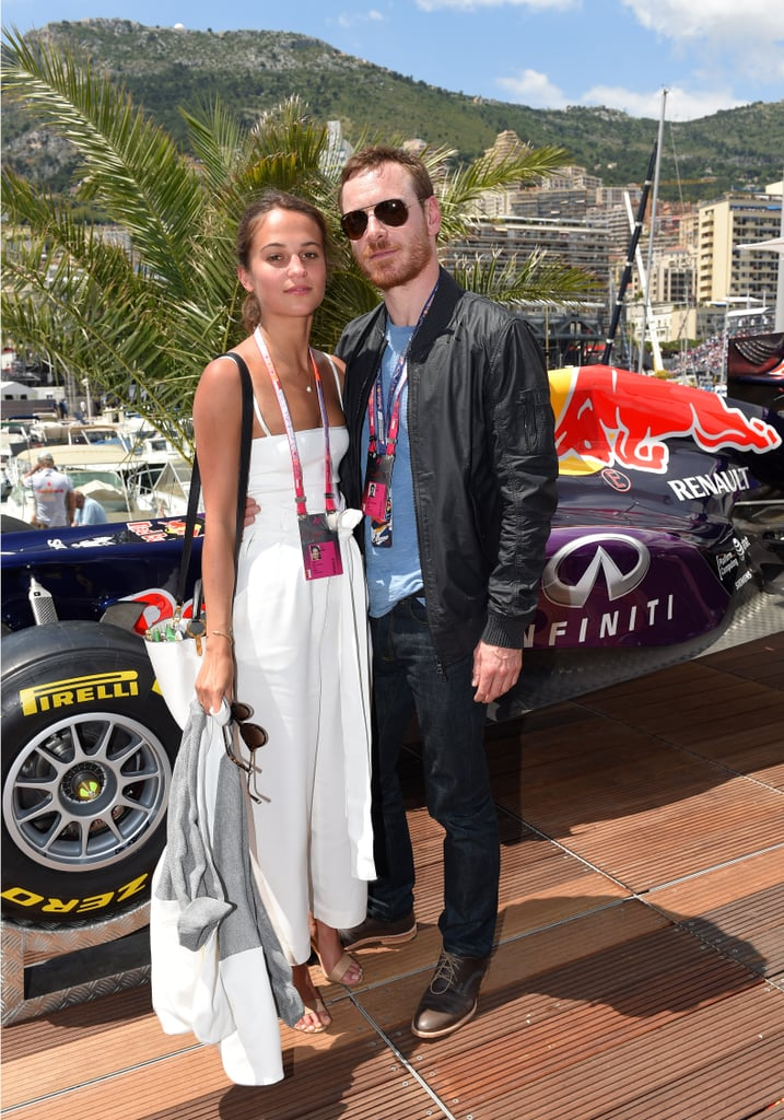 """Vikander and Fassbender at the Monaco Grand Prix. Few things better test one's ability to cope with life in the public eye than dating someone of even greater fame; Fassbender isn't just Vikander's future costar, but he's also reported to be her boyfriend. Vikander and Fassbender connected on the Australian set of  The Light Between Oceans, and after being photographed kissing by paparazzi, they made the big-in-Hollywood step of consenting to photos together while at the Monaco Grand Prix in May. The photos are likely the best and only confirmation curious minds will ever get of Vikander and Fassbender's relationship.  """"I love to talk about my films and my work, because it's so much excitement to promote a film when it's finally coming out and reunite with all the people you work with and all that,"""" she said. """"And then when it comes to the other part of the publicity, or being public, it's really hard to prepare for it, I think. And yet, we kind of know that it's a big part of what [actors] do. But I think if you choose wanting to be private, you can be that."""""""