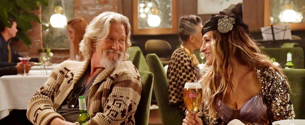 Sarah Jessica Parker and Jeff Bridges in Stella Artois Ad