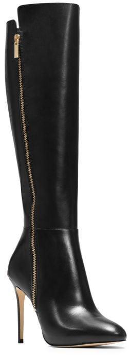 MICHAEL Michael Kors Clara Leather Boot ($295)