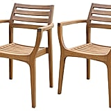 Set of 4 Danish Stacking Chairs ($749)
