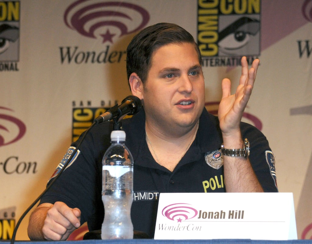 Jonah Hill at WonderCon.