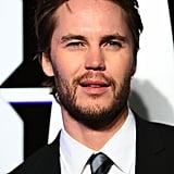 Taylor Kitsch sported a beard at the Battleship premiere in Sydney.