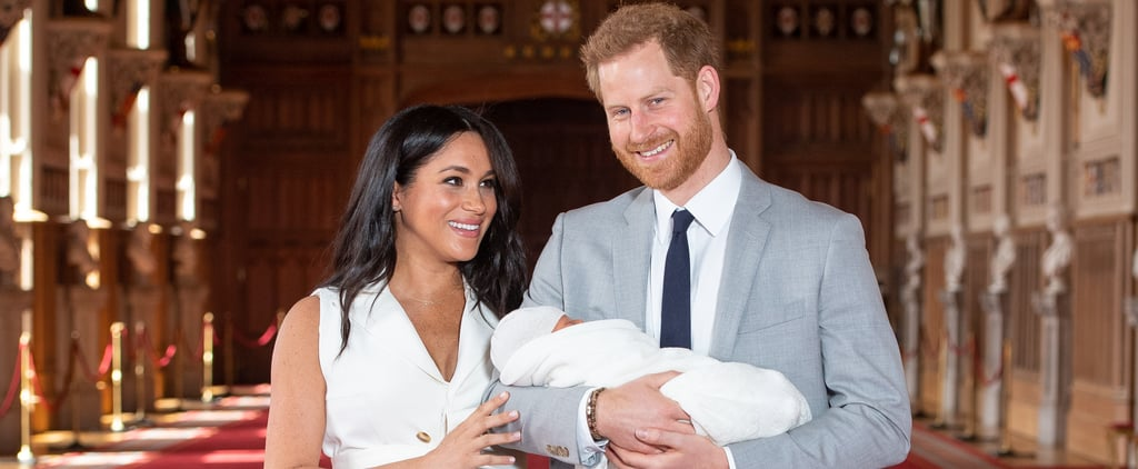 Why Prince Harry Was Holding Baby Sussex
