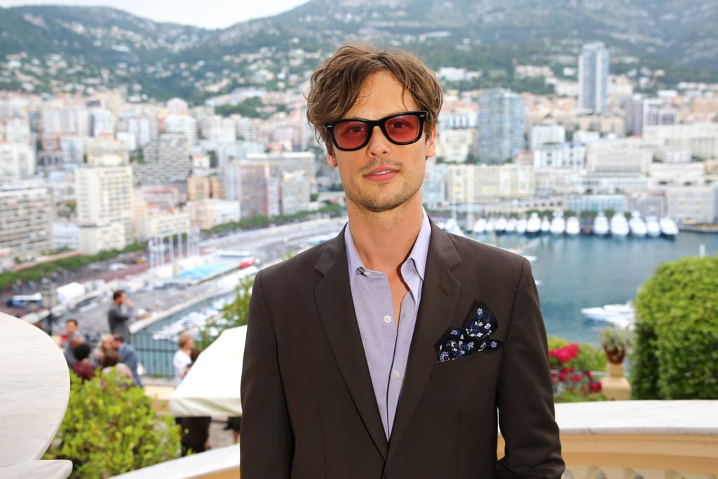 Please, Step Into the Church of Matthew Gray Gubler's Unfair Hotness