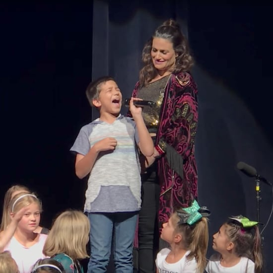 "Little Boy Sings ""Let It Go"" With Idina Menzel"