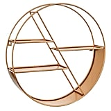 Simply Be Gold Circular Wall Mounted Shelf