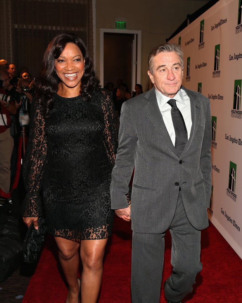 Grace Hightower De Niro and Robert De Niro attended the Hollywood Film Awards gala in Los Angeles.