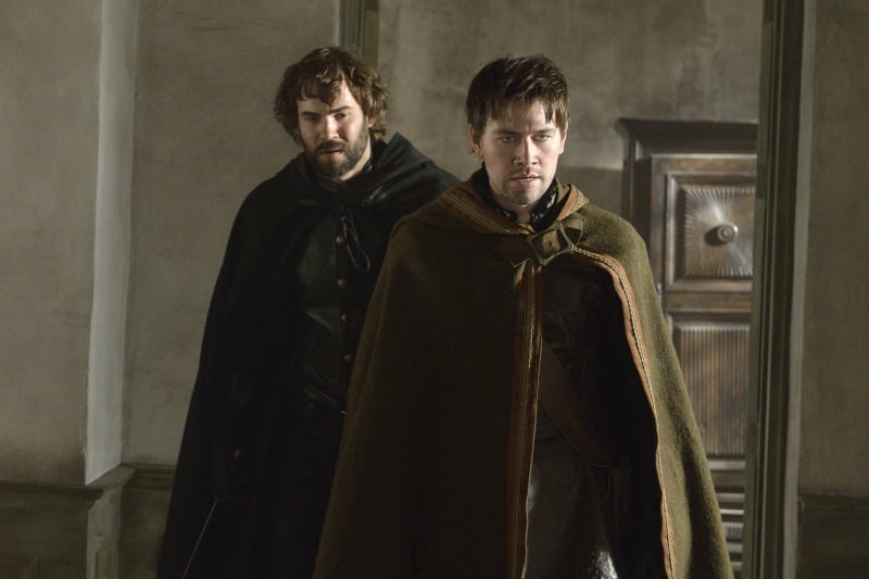 With Nostradamus (Rossif Sutherland) there too, I'm suspecting a murder scene.