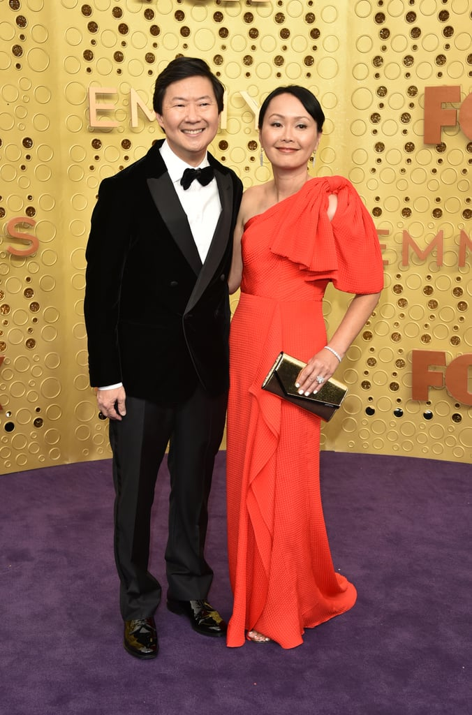 Ken Jeong and Tran Jeong at the 2019 Emmys