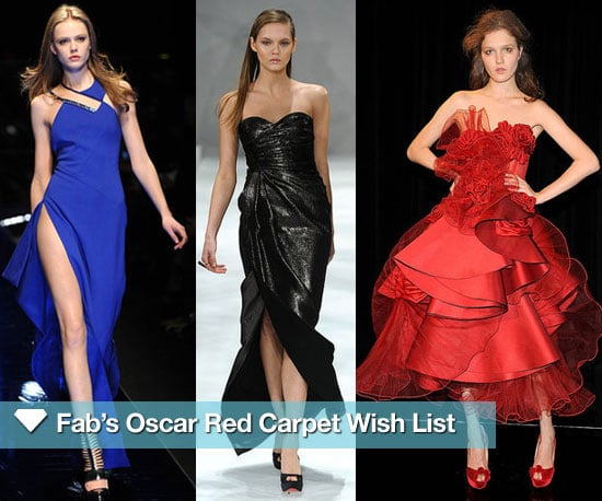 Fab's Oscar Red Carpet Wish List