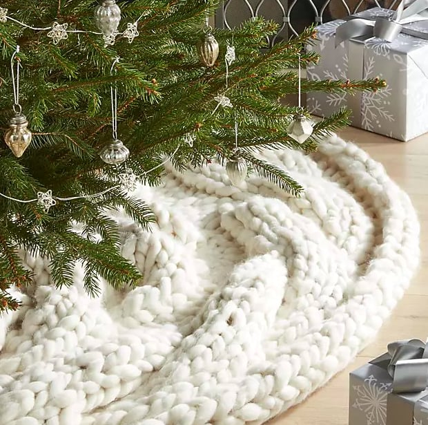 Cozy Knit Tree Skirt